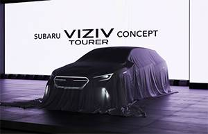 Мировая премьера концепта Subaru VIZIV Tourer Concept
